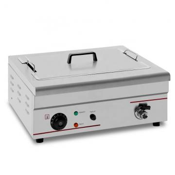 New Commercial Oil-Water Separation Electric Fryer Gas Fryer Electric Frying Pan Single Cylinder Commercial Large Capacity Fried Fritters Machine China Fryer