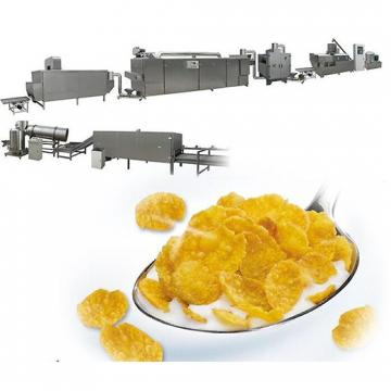 Breakfast Cereal Corn Food Flakes Extruder Production Line Machine
